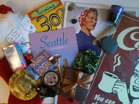 Seattle Mitbringsel Collage
